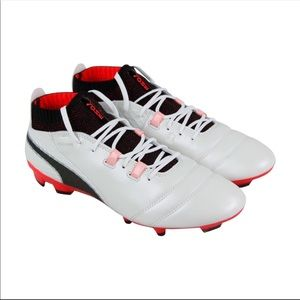 Puma One 17.1 fg white/black/coral